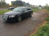 Audi A4 Avant black 2.0tdi model for sale/swap for van