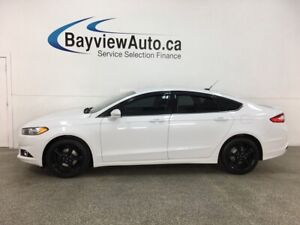 2016 Ford Fusion SE - 57,000KMS! BLACK WHEELS! BIG SCREEN + M...