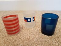 Partylite nautical votive trio candle holder. Ex display item with box