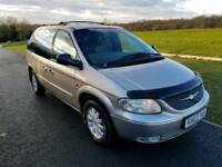 Chrysler Voyager CRD LX Diesel,Only 1 owner,7 seats,108k miles,Service history,3 keys,LEATHER