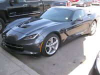 2014 Chevrolet Corvette Stingray MANUAL-LEATHER-LOW KMS!!!