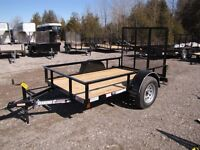 2015 Diamond C 5X8 UTILITY TRAILER RSA58