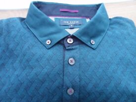 Ted Baker Polo Shirt (size 6 = 46 inch chest) ***** Never been worn, as new *****