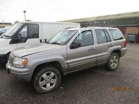 JEEP CHEROKE FOR SALE - SPARES OR REPAIR