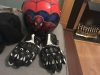 Ravern motorcycle gloves. Medium