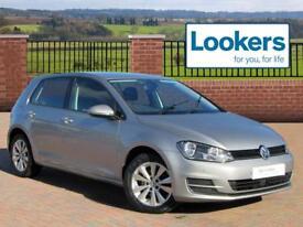 Volkswagen Golf SE TSI BLUEMOTION TECHNOLOGY DSG (silver) 2013-09-20