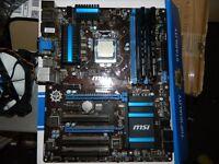 i5 4670k Msi z87-G43 16Gb Kingston Hyper X Beast DDR3 2400Mhz + Dual 120mm Heatsink