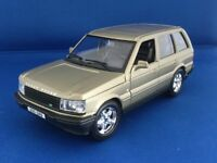 Burago Die-cast model car - 1/24 scale RANGE ROVER, early edition, Bronze colour