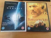 Dvd's all for a £1.