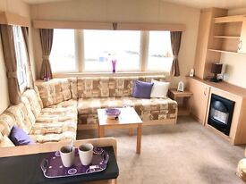 CHEAP DOUBLE GLAZED STATIC CARAVAN 🔥 PITCH FEES INCLUDED FOR 2017 , CRIMDON DENE HOLIDAY PARK