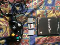GameCube Games, Controller, memory cards