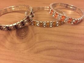 Three bracelets for sale