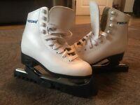 Freesport White Figure Ice Skates UK13 EUR 32