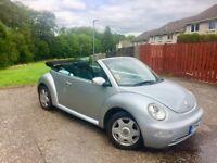 Reduced !! 2004 VW Beetle Convertible 1.6 mot Until April