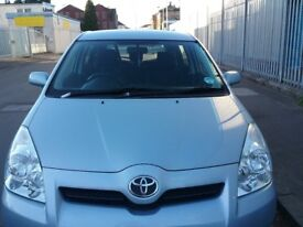 Low Mileage Toyota Corolla Verso Petrol 1.8 Full Year MOT Excellent Condition Throughout Great Car..