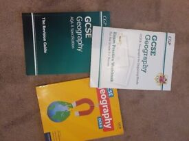 GCSE geography, History and RS textbooks