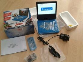 Brand new BOXED Avengers Portable DVD player,remote, ear phones, car charger, mains charger, etc,etc