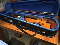 Stentor Violin Outfit Student I 4/4, complete with case- BRAND NEW