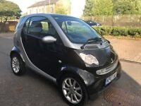 2007 SMART CAR FORTWO CITY PASSION 61 BHP. AUTOMATIC ONLY 57K MILES LONG MOT, £30 YEAR ROAD TAX