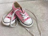Pink Converse Size 8jnr