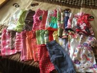 Bundle of girls spring/summer clothes age 2-3 years NEXT, M&S 26 clothes