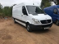 Mercedes Sprinter 311 Cdi Lwb 2007..Starts & Drives well.. Bargain £1895 No Vat...