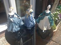3 x Royal Doulton Figurines
