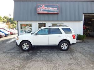 2011 Mazda Tribute GX I4 AWD BLANC AUTOMATIQUE FULL ÉQUIPÉ 130 K