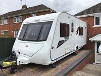 Elddis Avante 2011 Fixed Bed 4 Berth Caravan.