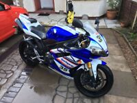 Yamaha yzf r1 2007 blue px swaps r1 r6 zx10 ninja rr road legal ????