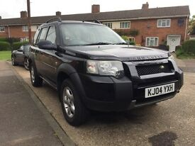 LAND ROVER FREELANDER TD4 2.0 SE JAVA BLACK SWITCHABLE AUTO, WITH CREAM ALCANTRA LEATHER SEATS