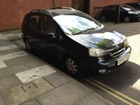 2004 DAEWOO TACUMA CDX AUTOMATIC,NEW CAMBELT, ALLOYS, C/D PLAYER, LONG MOT TAXED ONLINE,