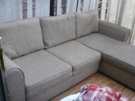 4 seater chaise sofa bed