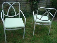 Gardening chairs X4- John Lewis