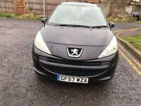 2007 Peugeot 207 1.4 16v S 3dr Manual @07445775115