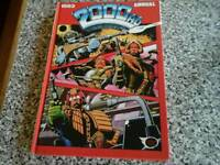 1983 vintage 2000AD hard back annual