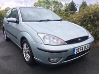 2005 Ford Focus 1.6 Automatic. Low miles. Mot. Auto