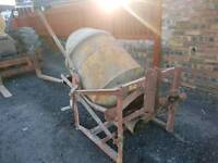 Teagle Tractor three point linkage pto driven cement mixer