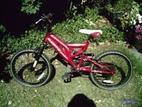 Muddyfox sport z mountain bike,20inch wheels.