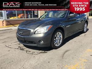 2012 Infiniti M37x PREMIUM NAVIGATION/LEATHER/SUNROOF
