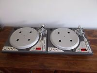 VESTAX PDX D3S DIRECT DRIVE TURNTABLES/TECHNICS 1210/1200 ALTERNATIVES/ UK DELIVERY AVAILABLE