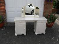 Desk/Dressing Table in Cream