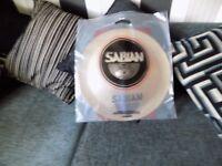 "sabian aa 10"" splash cymbal,new"