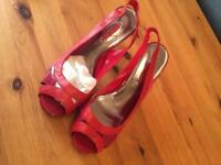 Next red shoes size 6