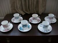 China vintage tea sets.