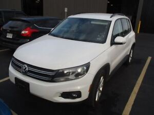 2017 Volkswagen Tiguan WOLFSBURG EDITION! LEATHERETTE! REAR CAME
