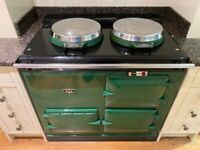Aga Cooker 2 Oven 13 amp Electric
