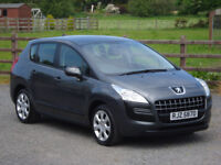 2010 PEUGEOT 3008 1.6 16V HDI ACTIVE **LOW MILEAGE**