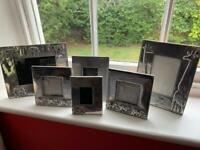 Set of 6 Zimbabwean photo frames