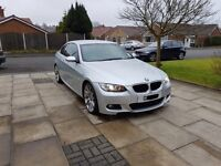BMW 320D M Sport Coupe Sept 2007 (62k) Full BMW service history ONO